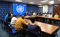 UNV Chief of Development Programming meets with UN Volunteers in Somalia