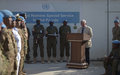 UN holds Special Service Awards ceremony for eleven officers who have served in Somalia