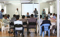 """How to do business with the UN"" seminar ends in Baidoa"