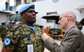 UN peacekeepers awarded medals for distinguished service in Somalia