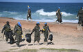 UN in Somalia leads a beach clean-up exercise to mark World Environment Day