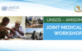 UNSOS-AMISOM joint medical workshop on life-saving skills