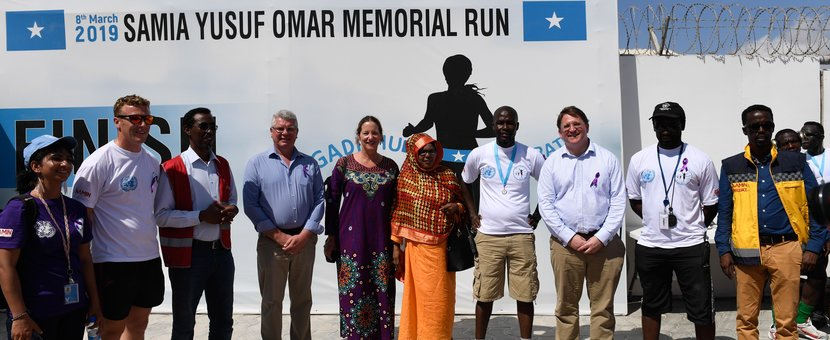 UNSOS Co-organises International Women's Day 2019 Half Marathon